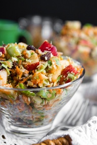 yummy detox vegan salad