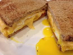 egg sandwich cheese wheat