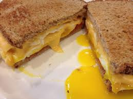 egg sandwich cheese wheat