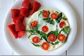 egg white omlete with antioxidants