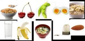 foods helping sleep