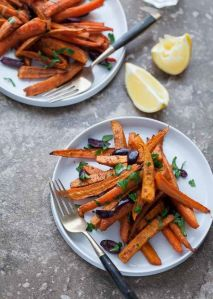carrots and sweet potatoes for skin health