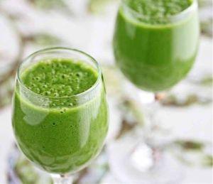 green tea smoothie detox