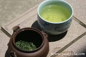 organic green tea protects skin