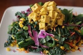 tofu and arugula fat burning foods